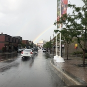Rainbow at five points Barrie