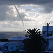 Waterspout at North Shore, Bermuda!