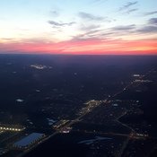 Sunset from 6000 feet