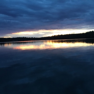 Crow Lake Sunset