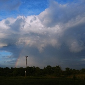massive cell and rainbow