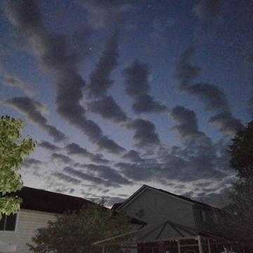 Unusual Cloud Formation