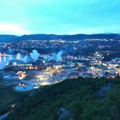 corner brook still lit up at 6:00am