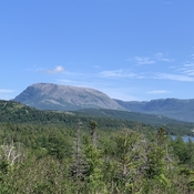 Gros Morne mountain, NL. 806m high.