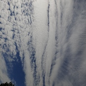 More strange clouds