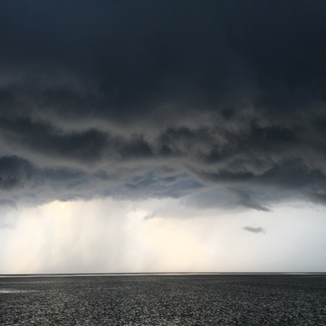 Storm approaching Allenwood Beach (Georgian Bay)