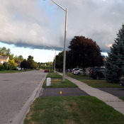 Weird weather in Brockville Ontario