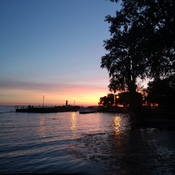 Lachine. sunset