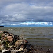 Lake Winnipeg from near Sandy Bay