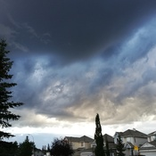 Crazy clouds over Calgary