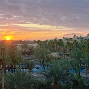 Sunrise over Riu Cabo