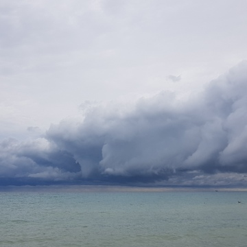 Clouds over L. Huron