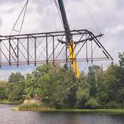 Hudson Bridge removal