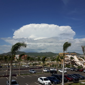 Clouds in Cabo San Lucas
