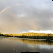 Arc-en-ciel au Grand Lac Long