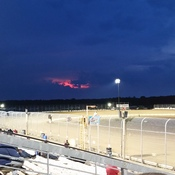 Friday 13th over oshweken dirt track