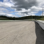 Looking down track from Corner 2A at Canadian Tire Motorsports Park
