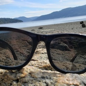 View with shades
