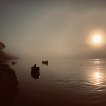 A Foggy morning on the Moose River