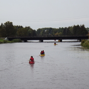 canoeing on the mcintyre river