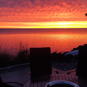 Sunrise in New Brunswick