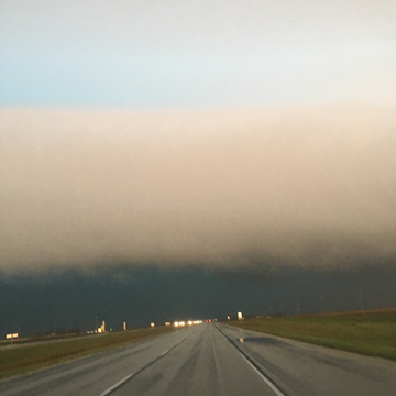 Just before Deacons Corner going into Wpg this morning