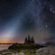 Zodiacal Light Over Lockeport