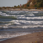 Lake Ontario at Rouge Beach