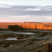 Early morning sunrise lights up the Coulee!