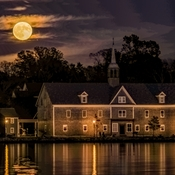 Hunter's Moon Over Shelburne
