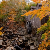 Fall Colours At The Mill