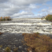 spring runoff in OCTOBER