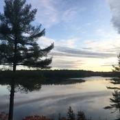 A new day at French River Provincial Park