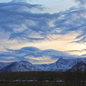 Chinook Arch over Chief Mountain