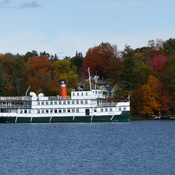Muskoka Wharf in Fall