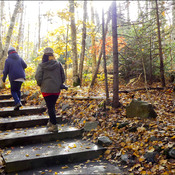 Autumn walk, Elliot Lake.