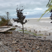 lake huron damages Goderich waterfront