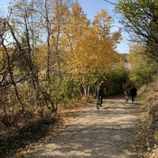 River valley bike and walking trail