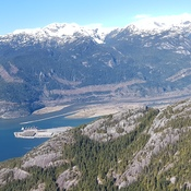 Howe Sound/Squamish from Sea to Sky Gondola