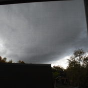 Scary clouds!