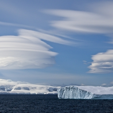 More Lenticular Clouds over Antarctica
