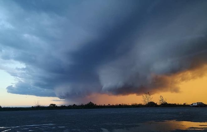 Wicked Storm Tonight Port Colborne, ON