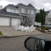 100km nasty winds in Laval
