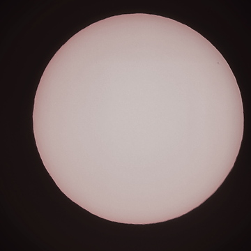 Todays transit of Mercury