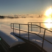Mornings on the St.Lawrence