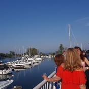 Bluffer's park Marina on a beautiful May afternoon