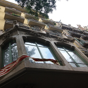 Apartment Building in Barcelona, Spain