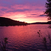 mattawa ontario sunset oct/19