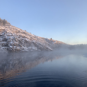 Chilly morning on the river