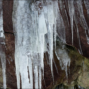Icicles, Elliot Lake.